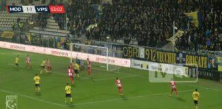 MODENA F.C., LA SODDISFAZIONE DI ZARO A FINE MATCH